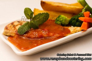 Chicken Steak Saus Barbeque