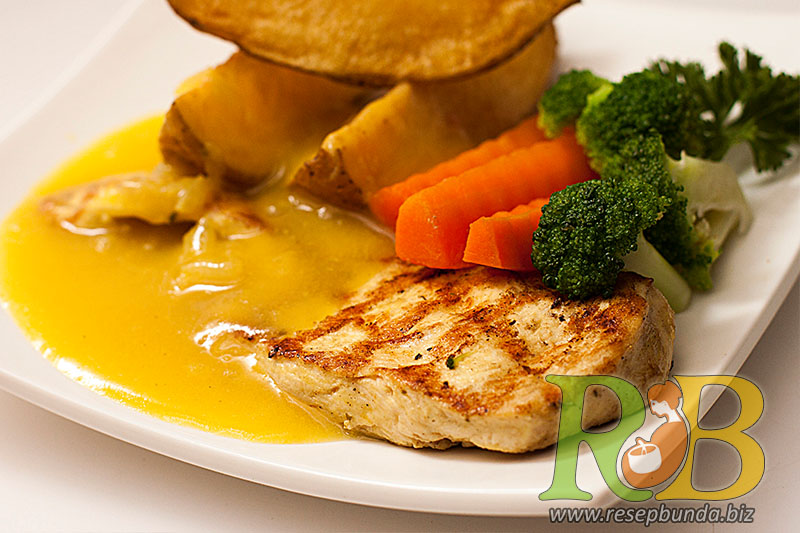 Menu Chicken Steak Saus Lemon