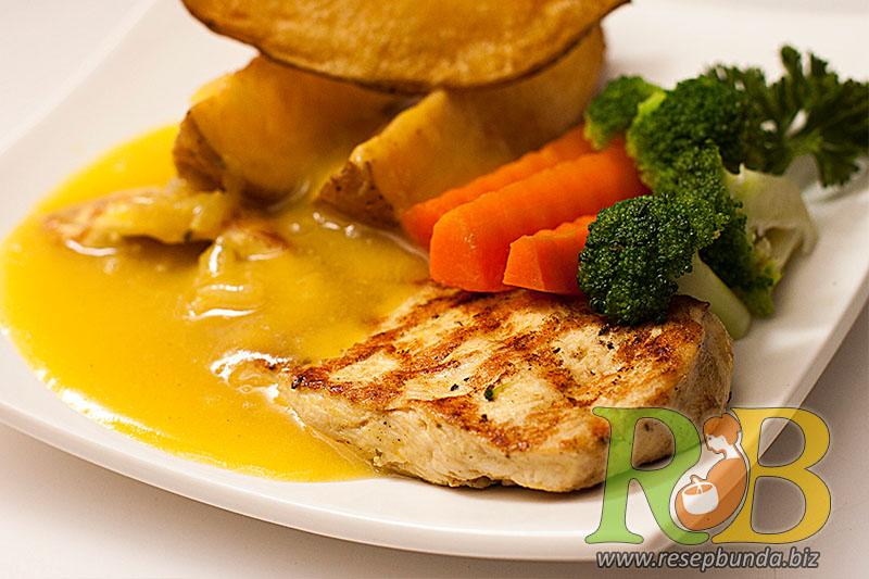 Menu Chicken Steak Saus Lemon